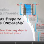 Three Steps to Home Ownership