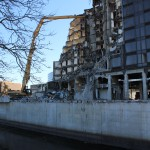 Riverwalk Plaza Hotel Demolition - December 12th, 2012